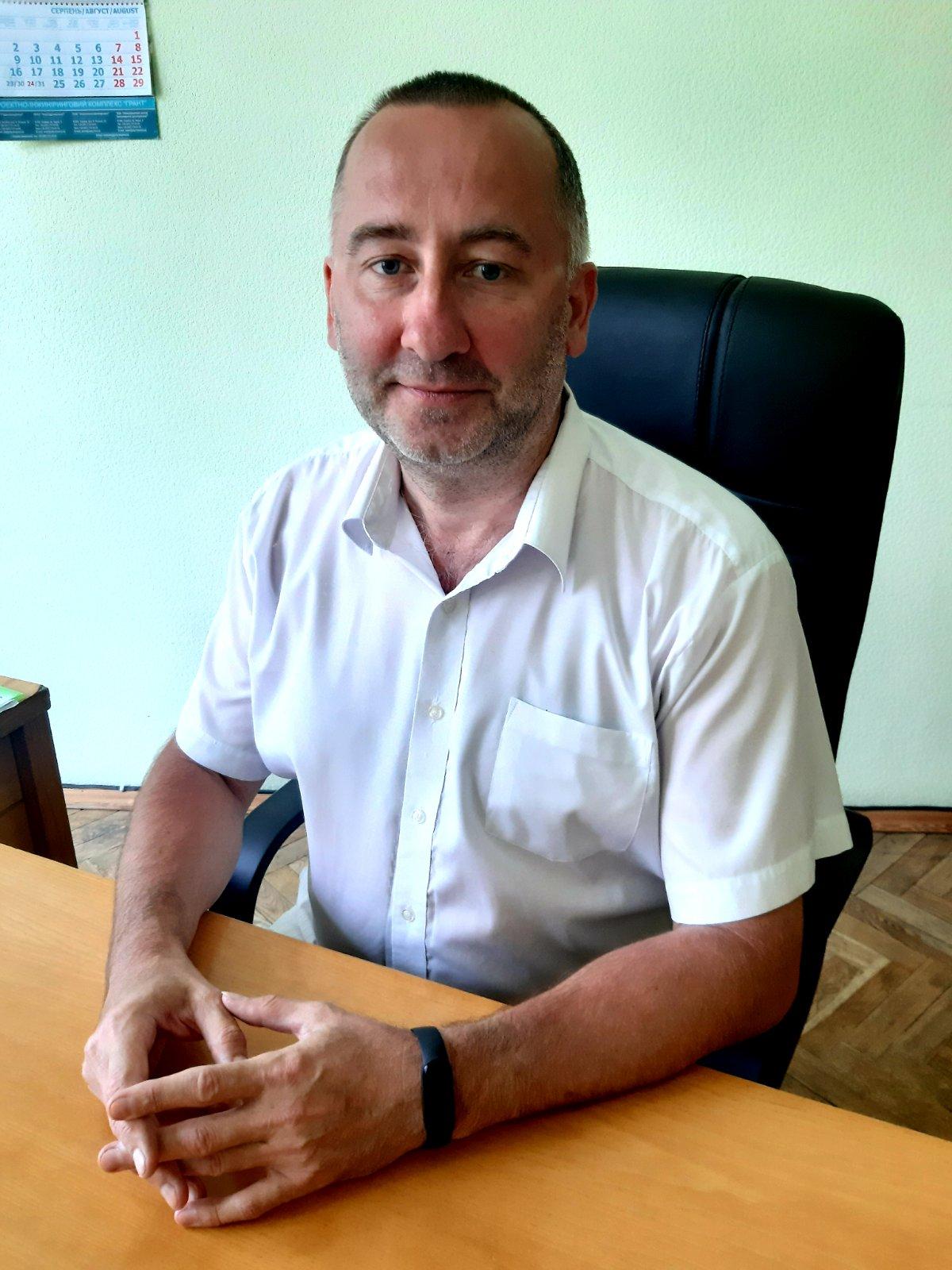 Заступник директора з загальних питань Ярошенко Ігор Володимирович